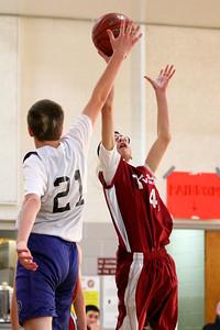 8th Grade Boys • Lourdes Salt Lake vs St  Vincent 1-5-2013   16
