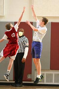 8th Grade Boys • Lourdes Salt Lake vs St  Vincent 1-5-2013   24