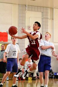 8th Grade Boys • Lourdes Salt Lake vs St  Vincent 1-5-2013   21