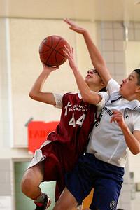 8th Grade Boys • Lourdes Salt Lake vs St  Vincent 1-5-2013   12