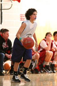 8th Grade Boys • Lourdes Salt Lake vs St  Vincent 1-5-2013   30