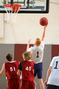 8th Grade Boys • Lourdes Salt Lake vs St  Vincent 1-5-2013   33