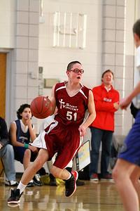 8th Grade Boys • Lourdes Salt Lake vs St  Vincent 1-5-2013   11