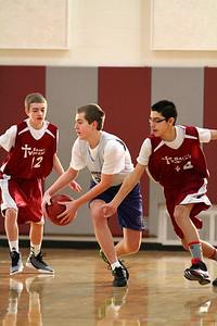 8th Grade Boys • Lourdes Salt Lake vs St  Vincent 1-5-2013   14