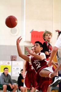 8th Grade Boys • Lourdes Salt Lake vs St  Vincent 1-5-2013   7
