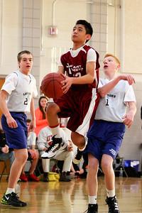 8th Grade Boys • Lourdes Salt Lake vs St  Vincent 1-5-2013   20