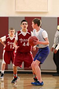 8th Grade Boys • Lourdes Salt Lake vs St  Vincent 1-5-2013   25