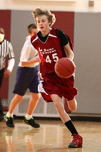 8th Grade Boys • Lourdes Salt Lake vs St  Vincent 1-5-2013   27