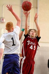 8th Grade Boys • Lourdes Salt Lake vs St  Vincent 1-5-2013   31