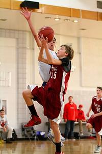 8th Grade Boys • Lourdes Salt Lake vs St  Vincent 1-5-2013   28