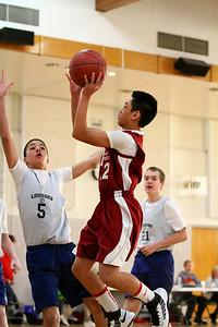 8th Grade Boys • Lourdes Salt Lake vs St  Vincent 1-5-2013   4