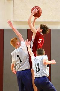 8th Grade Boys • Lourdes Salt Lake vs St  Vincent 1-5-2013   35