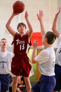 8th Grade Boys • Lourdes Salt Lake vs St  Vincent 1-5-2013   19