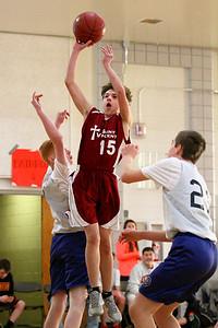 8th Grade Boys • Lourdes Salt Lake vs St  Vincent 1-5-2013   23