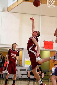 8th Grade Boys • Lourdes Salt Lake vs St  Vincent 1-5-2013   26