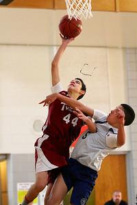 8th Grade Boys • Lourdes Salt Lake vs St  Vincent 1-5-2013   13