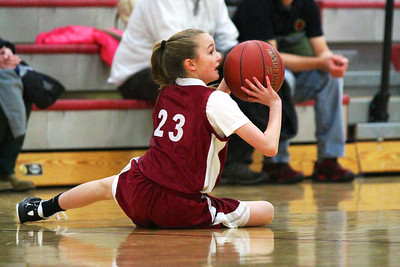5th Grade Girls • St. Vincent vs Cathedral 1-26-2013