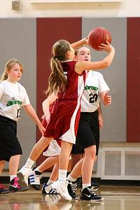 5th Grade Girls • St  Ambrose vs St  Vincent 1-5-2013   34