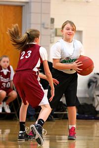 5th Grade Girls • St  Ambrose vs St  Vincent 1-5-2013   25