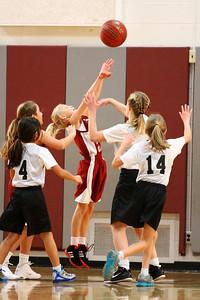 5th Grade Girls • St  Ambrose vs St  Vincent 1-5-2013   32
