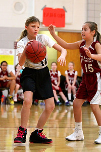 5th Grade Girls • St  Ambrose vs St  Vincent 1-5-2013   20