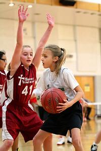 5th Grade Girls • St  Ambrose vs St  Vincent 1-5-2013   31