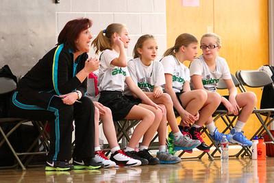 5th Grade Girls • St  Ambrose vs St  Vincent 1-5-2013   6