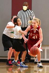 5th Grade Girls • St  Ambrose vs St  Vincent 1-5-2013   8