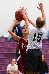 6th Grade Girls • St. Vincent vs St. Ambrose 1-19-2013