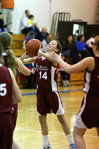 6th Grade Girls • St. Vincent vs St. Thomas More 3-6-2013