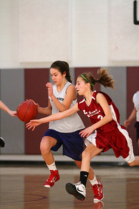 8th Grade Girls • Lourdes Salt Lake vs St  Vincent 1-5-2013    21