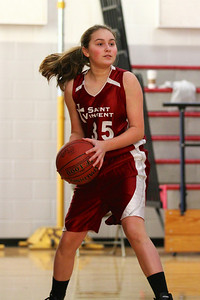8th Grade Girls • Lourdes Salt Lake vs St  Vincent 1-5-2013    22