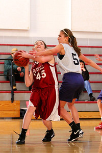 8th Grade Girls • Lourdes Salt Lake vs St  Vincent 1-5-2013    34