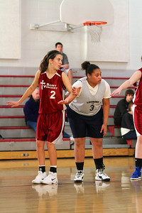 8th Grade Girls • Lourdes Salt Lake vs St  Vincent 1-5-2013    26
