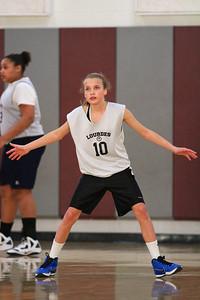8th Grade Girls • Lourdes Salt Lake vs St  Vincent 1-5-2013    7