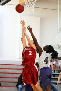 8th Grade Girls • Lourdes Salt Lake vs St  Vincent 1-5-2013    36