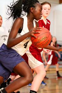 8th Grade Girls • Lourdes Salt Lake vs St  Vincent 1-5-2013    35