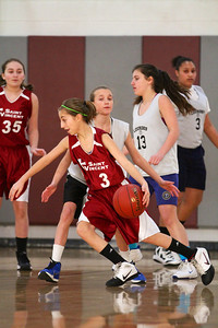 8th Grade Girls • Lourdes Salt Lake vs St  Vincent 1-5-2013    3