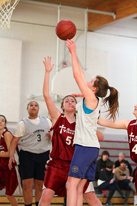 8th Grade Girls • Lourdes Salt Lake vs St  Vincent 1-5-2013    14