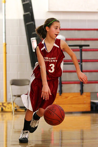 8th Grade Girls • Lourdes Salt Lake vs St  Vincent 1-5-2013    30