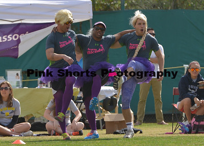 February 1, 2014 - Blondes v. Brunettes Flag Football