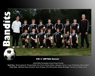Bandits Team Photos 2011