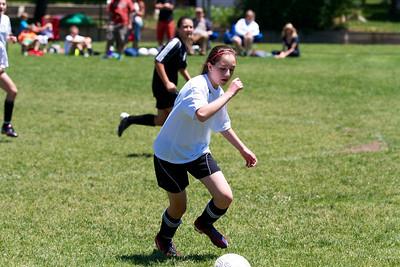 Impact  Soccer Girls U14 - Leo vs Oswald 6-1-2013