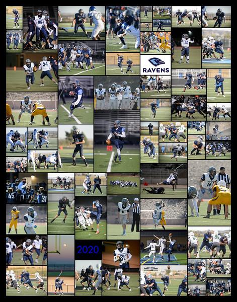 RRHS 2020 football collage - 11x14