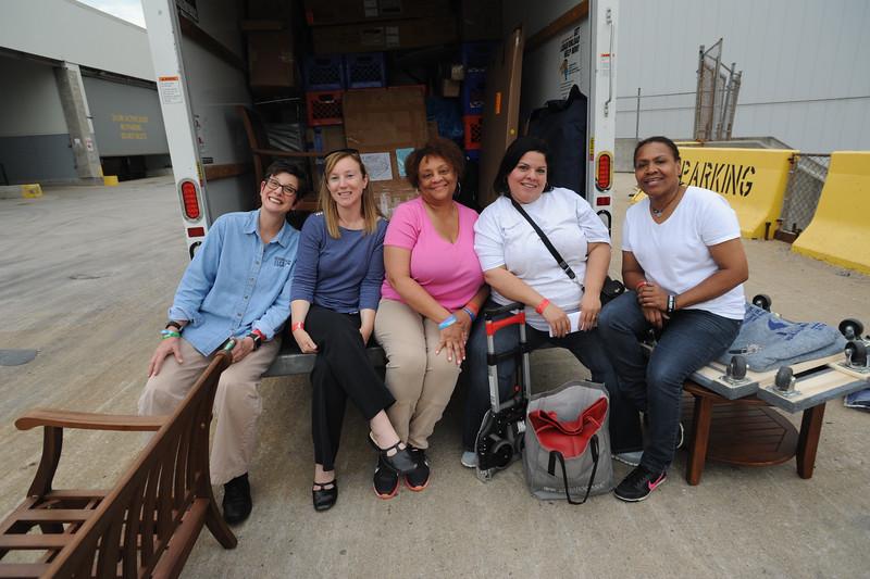 Women of the ELCA @ ELCA Youth Gathering | Detroit, Michigan, July 15-19 2015 | From left: Terri Lackey, Elizabeth McBride, Eva Yeo, Gabriela Contreras, Valora Starr.