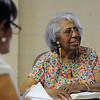 Gracious Saviour Lutheran Church, Detroit, Mich. | Amanda Porter participates in the women's Bible study class.