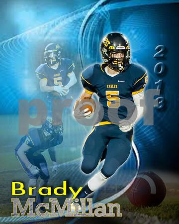 Brady McMillan poster