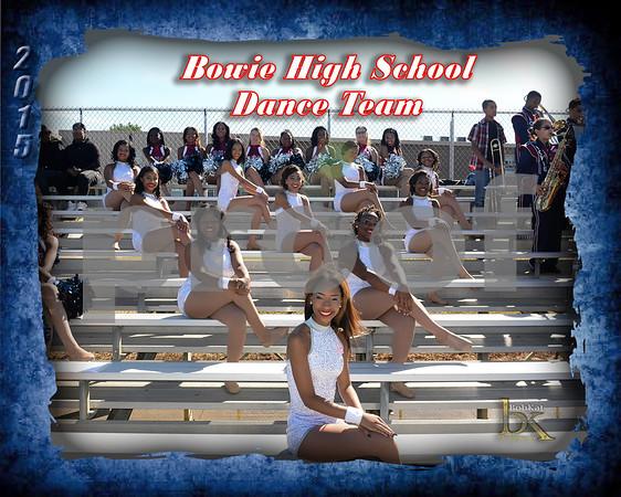 Bowie HS Dance Team Poster