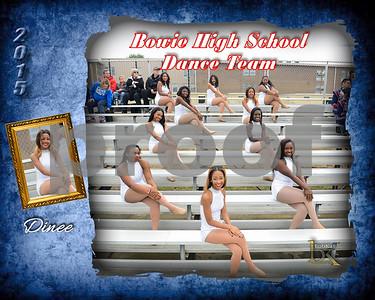 Bowie HS Dance Team Poster_Dinee