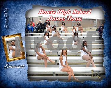 Bowie HS Dance Team Poster_Emmari
